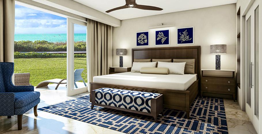 Seaside One Bedroom Concierge Villa Suite - S1 master bedroom