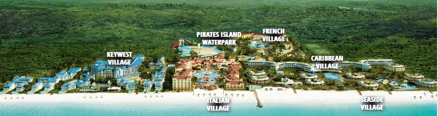 Beaches Turks & Caicos Map