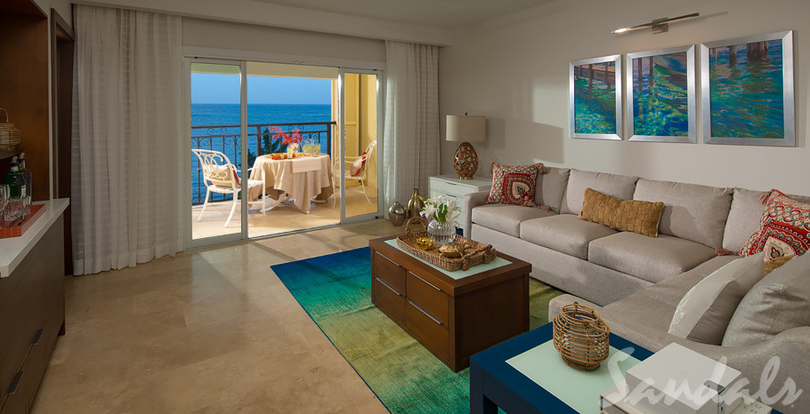 Italian Beachfront One Bedroom Butler Suite - IB1