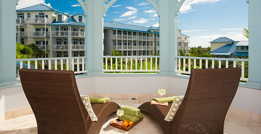 Key West Two Story Two Bedroom Concierge Suite balcony - 2BG