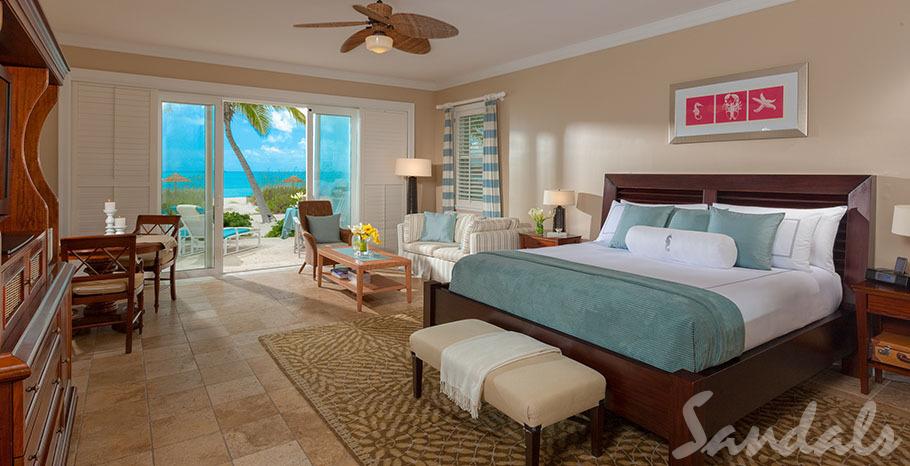 Sandals Emerald Bay Beachfront Honeymoon Walkout Butler Villa Suite - BWV