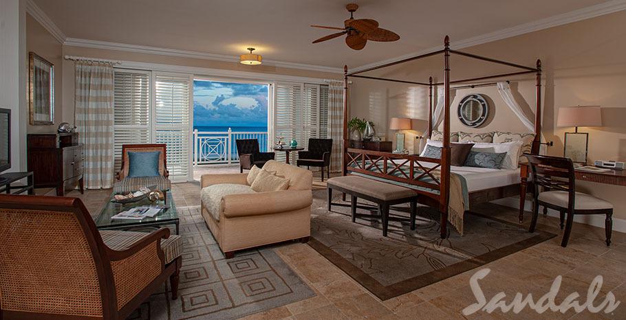 Sandals Emerald Bay Beachfront Oversized Butler Villa Suite - PBCS