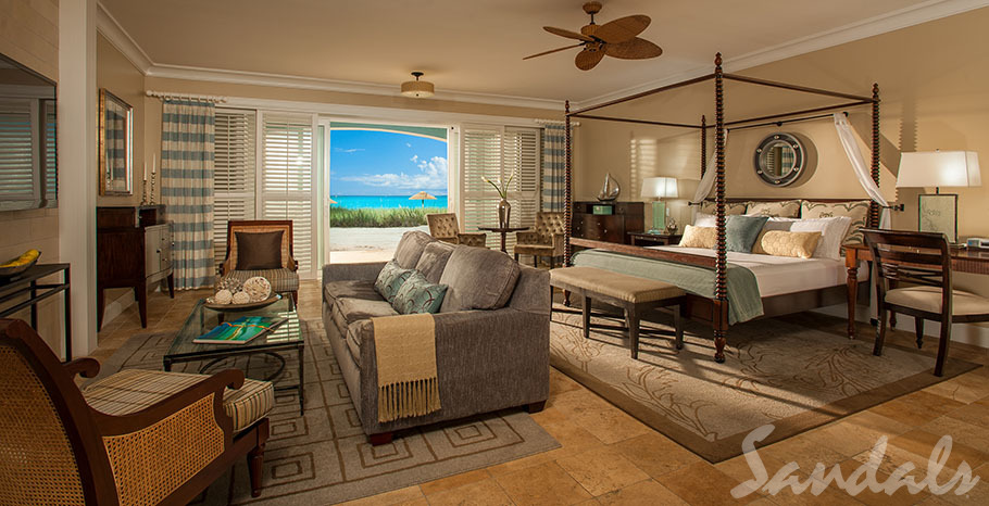 Sandals Emerald Bay Beachfront Oversized Walkout Butler Villa Suite - WBCS