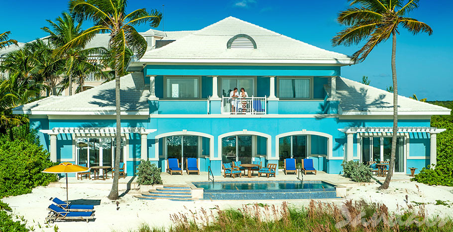 Sandals Emerald Bay Royal Estate Beachfront Two Story One Bedroom Butler Villa Suite with Pool - BSP