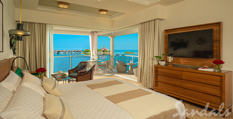 Sandals Royal Caribbean Royal Beachfront Butler Corner Suite w/ Balcony Tranquility Soaking Tub - BBC