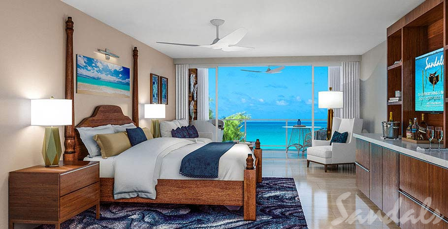 Dutch Beachfront Luxury Room with Balcony Tranquility Soaking Tub - DGB