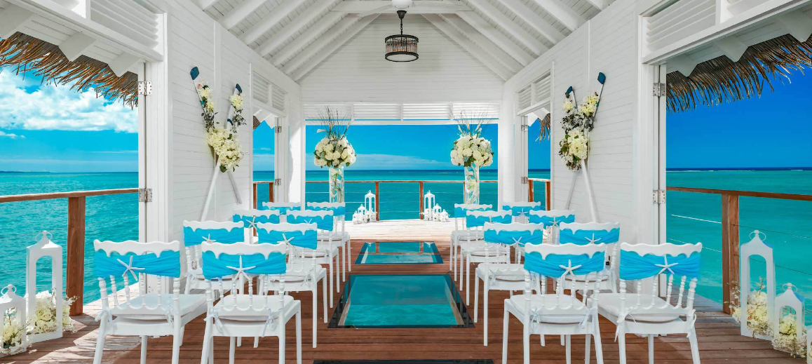 Sandals South Coast Over Water Wedding Chapel
