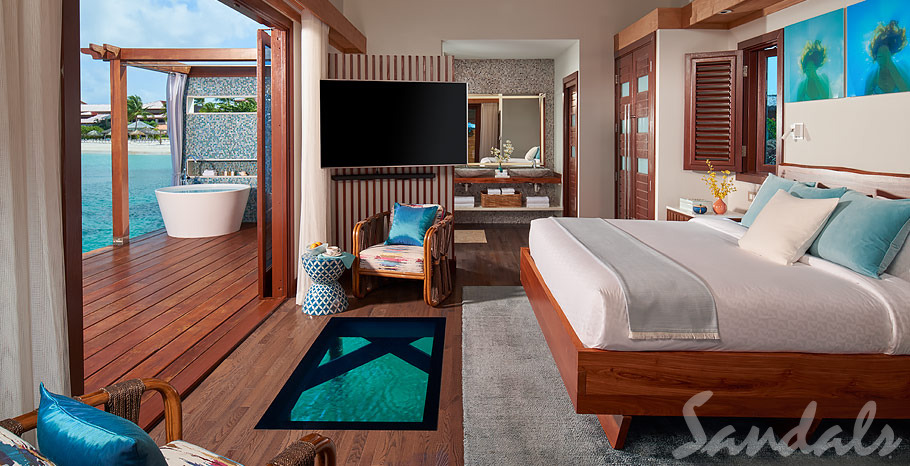 Sandals Grande St. Lucian Over-Water-Bungalows