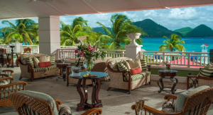 Breathtaking views from Sandals Grande St. Lucian Lobby