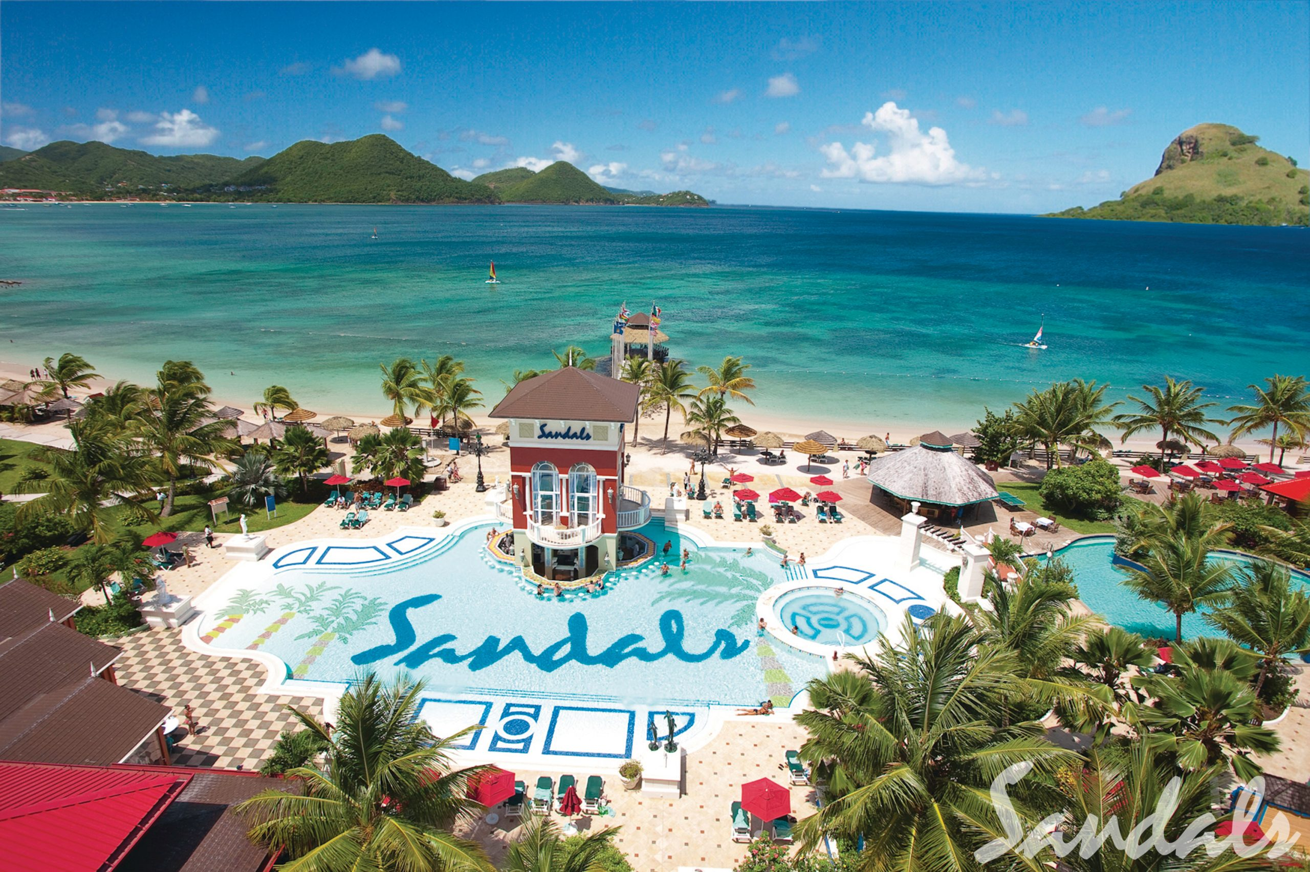 Sandals Grande St. Lucian is absolutely fabulous